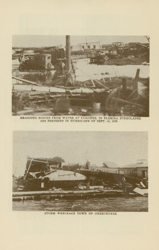 damage from the 1928 lake okeechobee hurricane