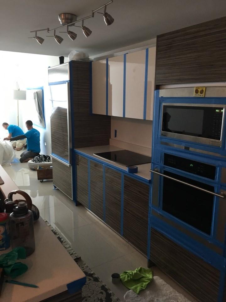 water damage repair in davie florida kitchen