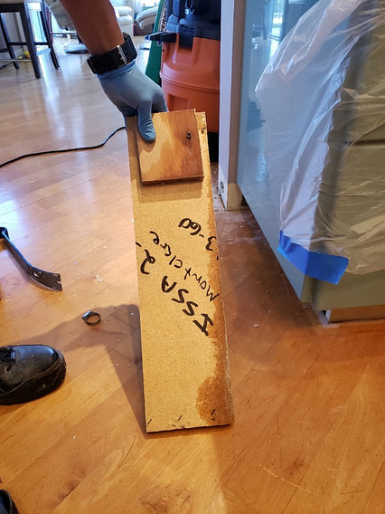 water damage in a coral springs florida home