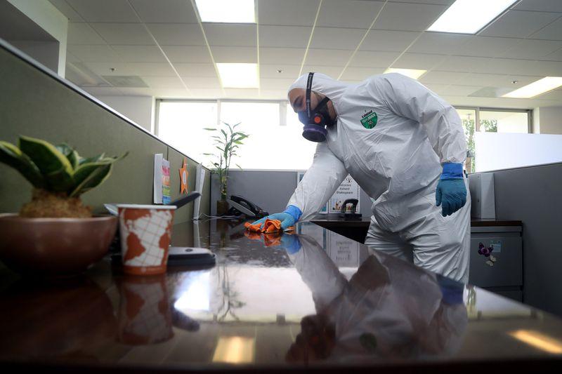 coronavirus cleaning florida