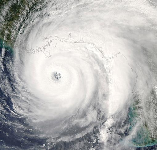 hurricane over florida