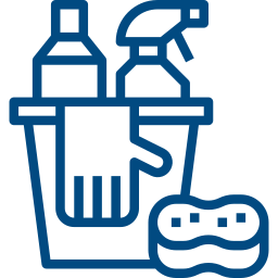 content cleaning icon