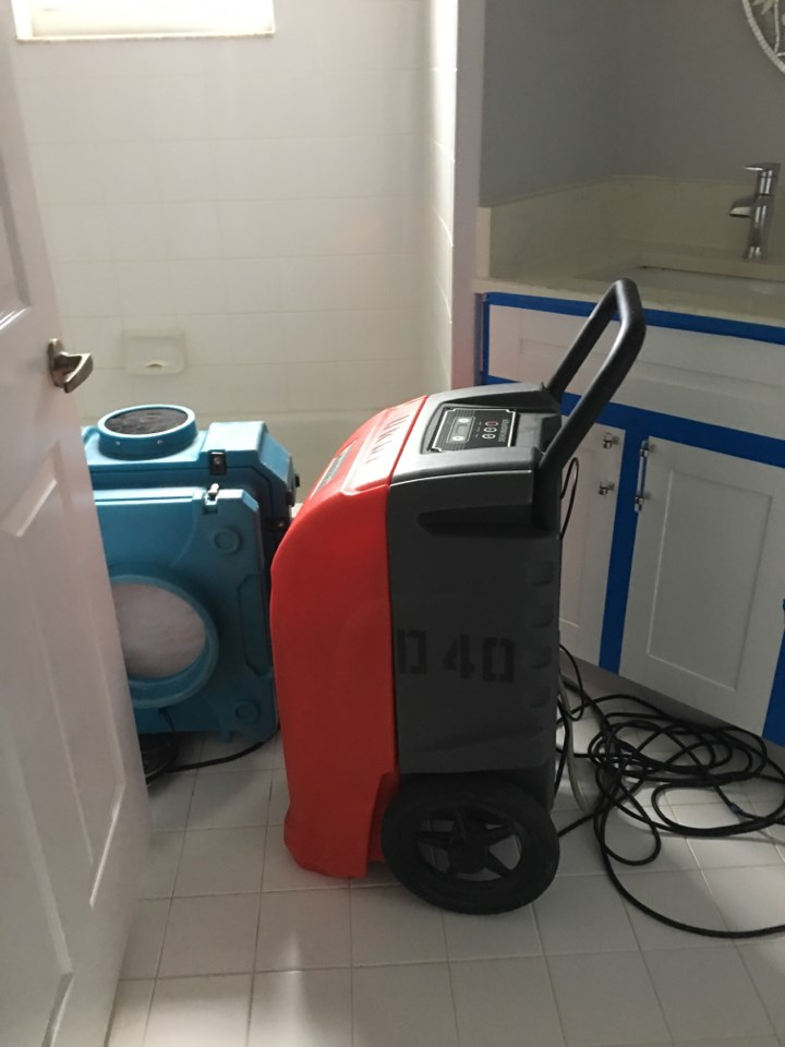 water damage extraction equipment in fort myers home