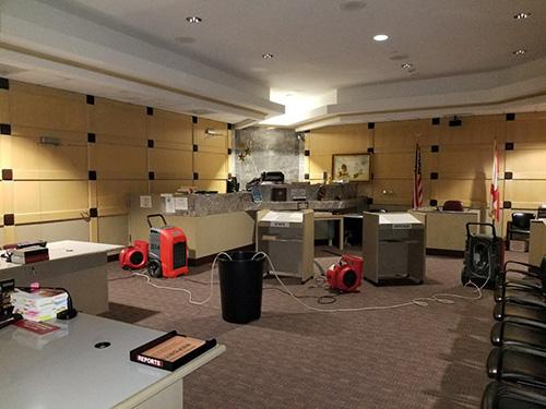 water damage restoration in florida courtroom