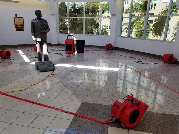 florida government water damage restoration