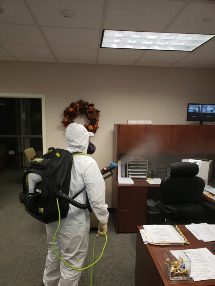 office covid-19 cleaning in fort lauderdale florida