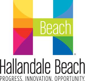 hallandale beach city logo